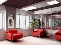 Modern office. Modern interior of office, exclusive design