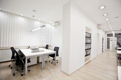 Modern office. Interior of the modern office Royalty Free Stock Image