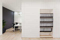 Modern office. Interior of the modern office Royalty Free Stock Photos