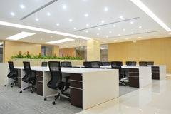 Modern office. Empty modern office with bright decoration