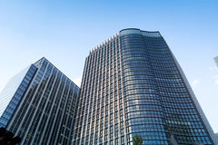 Modern Office background in tokyo. Royalty Free Stock Photo