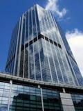 Modern office block. Upward view Stock Image