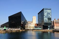 Modern Office Blocks, Liverpool. Stock Photography