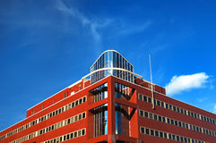 Modern office building. With blue sky Stock Images