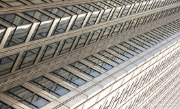 Modern office building. Windows on a modern office building making a background pattern effect Royalty Free Stock Image