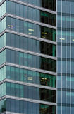 Modern office building. Downtown Vancouver Stock Photos