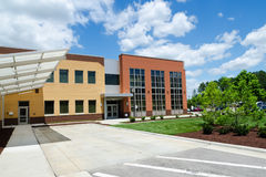 Modern office building. In suburban area Stock Photo
