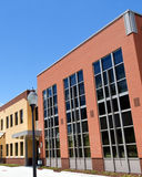 Modern office building. In suburban area Stock Photography