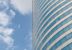 Modern office building agianst blue sky Royalty Free Stock Photography