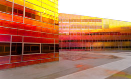 Modern office building in Almere Royalty Free Stock Images