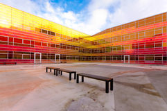 Modern office building in Almere Stock Image