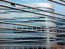 Modern Office Building And Reflections Stock Image