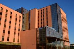Modern office building in Astana Stock Photo