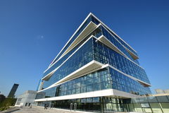 Modern office building in Astana Stock Photos