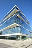 Modern office building in Astana Stock Images