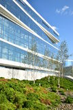 Modern office building in Astana Stock Photography