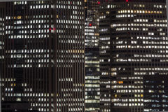 Free Modern Office Building At Night Stock Photos - 80002213