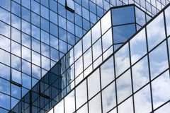 Modern office building in Central Europe Royalty Free Stock Photos