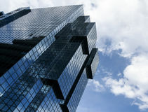 Modern office building city of london Stock Photo