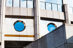 Modern office building from concrete and glass Stock Image