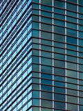 Modern office building corner Royalty Free Stock Images