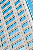 Modern office building detail Royalty Free Stock Photography