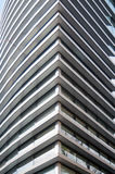 Modern office building detail Royalty Free Stock Images