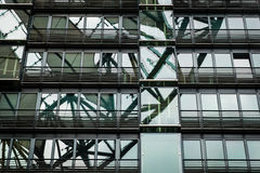 Modern office building detail of the Sony Center at Potsdamer Platz Stock Images