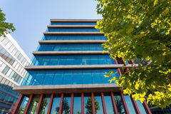 Modern office building detail Royalty Free Stock Photos