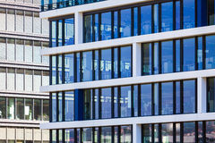 Modern office building detail Stock Photo