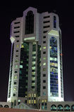 Modern office building in Doha Stock Photography