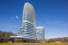 Modern office building of the dutch tax authorities in Groningen Royalty Free Stock Image