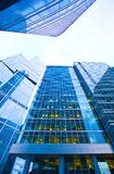 Modern office building  in evening Royalty Free Stock Image