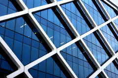 Modern office building exterior. Exterior of modern office building Stock Images