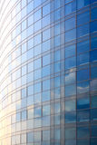 Modern office building exterior background. Royalty Free Stock Photography