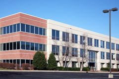 Modern office building exterior Royalty Free Stock Photo