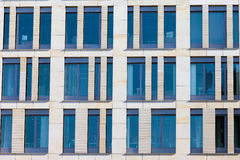 Modern Office Building Facade Stock Photo