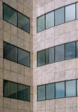 Modern office building facade pattern. Detail Royalty Free Stock Photos