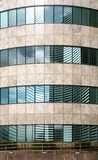 Modern office building facade pattern Royalty Free Stock Image