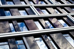 Modern office building with glas cladding Royalty Free Stock Image