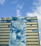 Modern office building with glas cladding Stock Photography