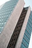 Modern office building with glas cladding Royalty Free Stock Images