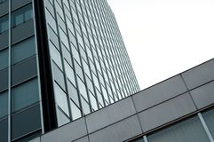 Modern office building with glas cladding Stock Photo