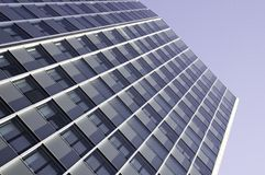 Modern office building with glas cladding Stock Images