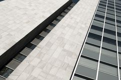 Modern office building with glas cladding Royalty Free Stock Photos