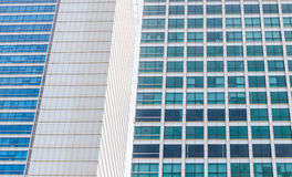 Modern office building. With glass Royalty Free Stock Photo