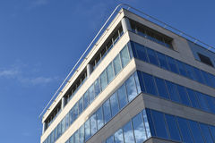 Modern office building. With glass/ concrete walls Royalty Free Stock Photos