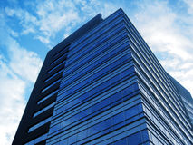 Modern office building. With glass/ concrete walls Royalty Free Stock Photo