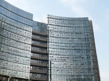 Modern Office Building with Glass Exterior Stock Image