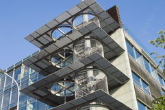 Modern office building with glass facade Royalty Free Stock Photography